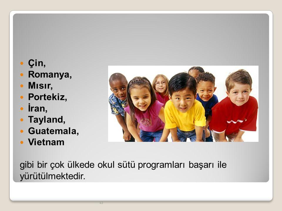44 SAĞLIK PERSONELİNDEN BEKLENTİLERİMİZ 25 Mart 2012 Pazar günü Okul Sütü Uygulama Tebliği yayımlanmıştır.