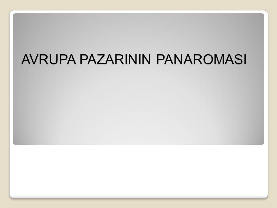 AVRUPA PAZARININ PANAROMASI