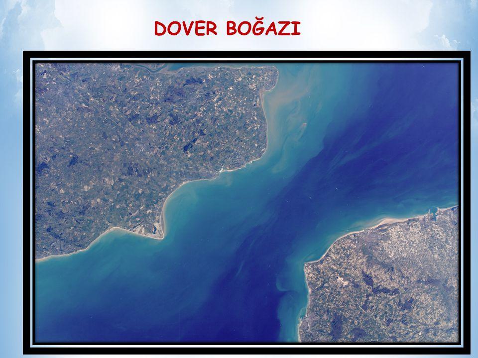 Dover Boğazı Doğu Avrupayı, Batı Avrupa kıyılarıyla, Afrika'yla birleştiren önemli bir geçittir.