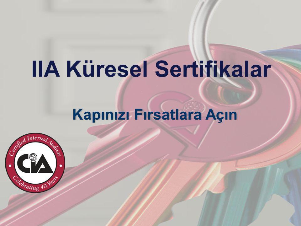 IIA Küresel Sertifikalar Kapınızı Fırsatlara Açın