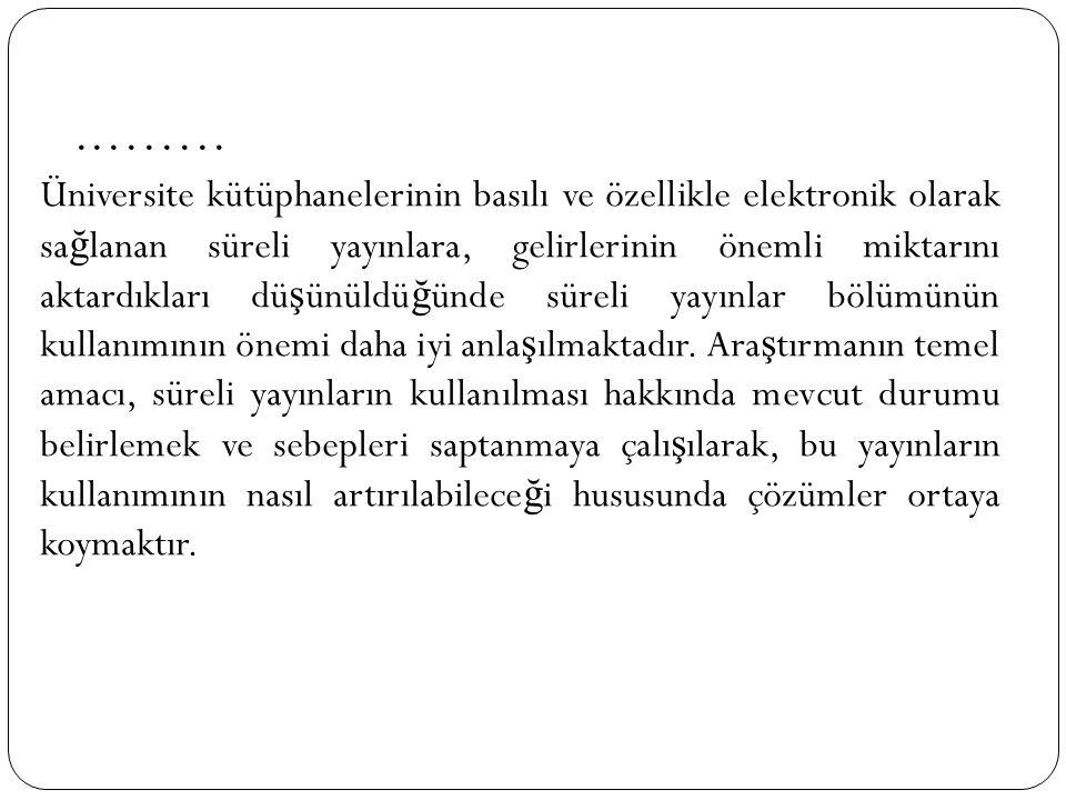 2.2.Süreli Yayınların Özellikleri Süreli yayınları di ğ er dermelerden, monografilerden ayıran özelikleri bulunmaktadır.