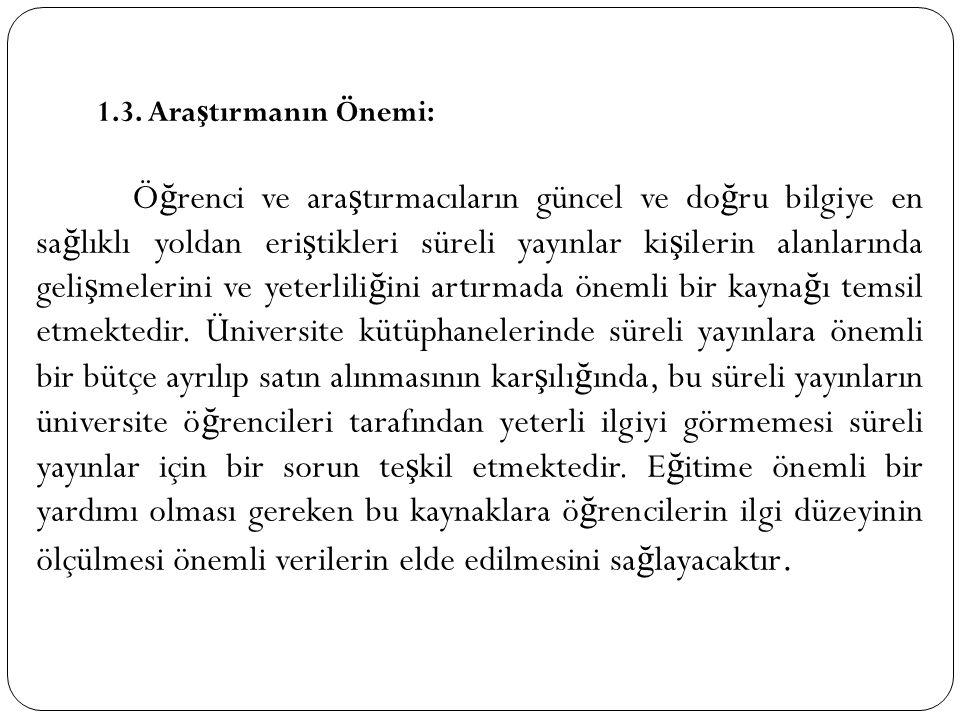 Kütüphane dermesinde bulunan ücretli olarak yayınlanan süreli yayınların ço ğ unu (%70) yabancı yayınlar olu ş turmaktadır.
