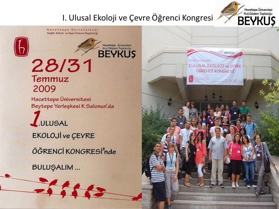 I. Ulusal Ekoloji ve Çevre Öğrenci Kongresi