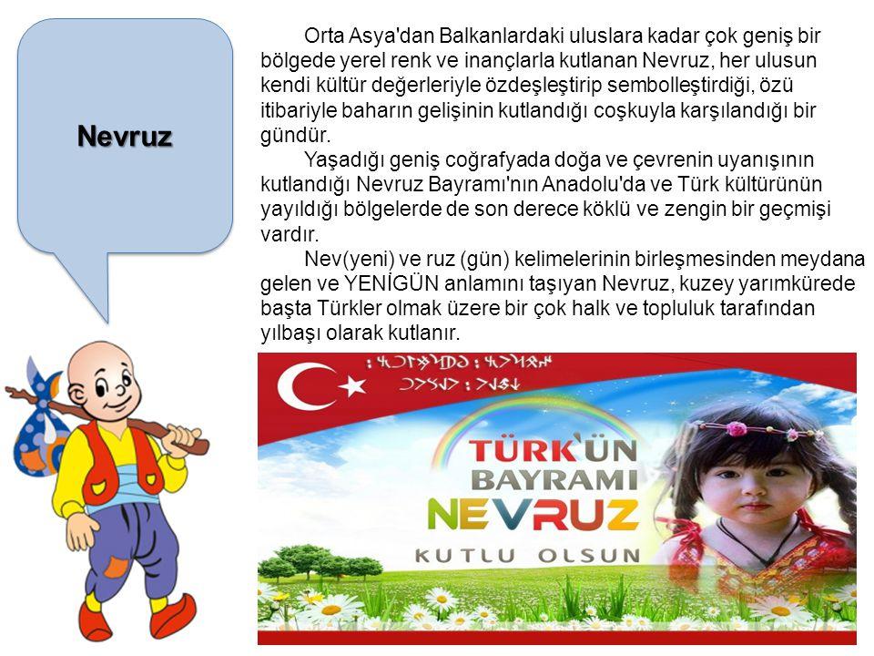 HıdırellezHıdırellez Türk dünyasında kutlanan mevsimlik bayramlardan biridir.