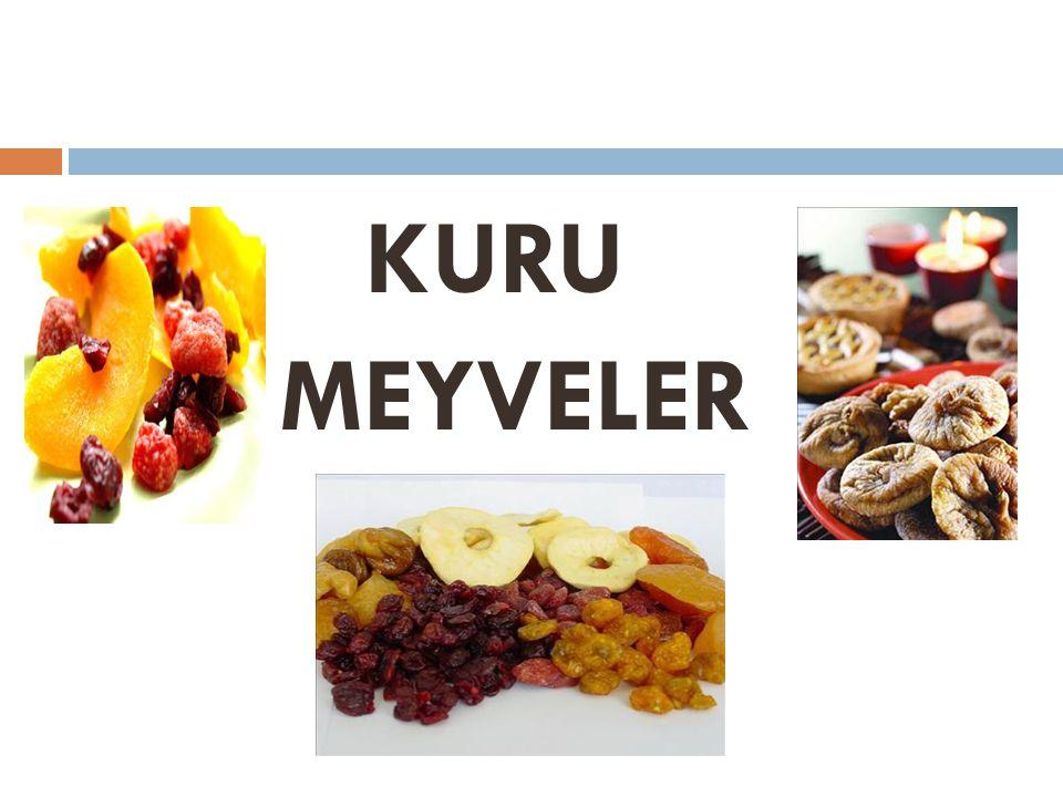 KURU MEYVELER