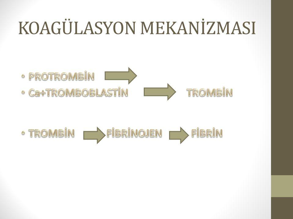 Tiklopidin ve Sülfinpirazon Trombosit agregasyonunu önler.