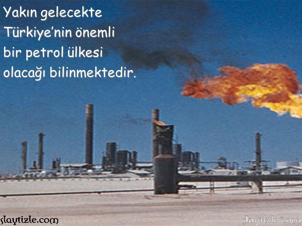 Ülkemiz doğal kaynaklar bakımından dünyanın en zengin ülkelerindendir. Doğu bölgelerimizin bir kısmında Petrol kaynaklarımız mevcuttur.