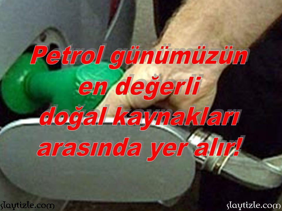 Yakın gelecekte Türkiye'nin önemli bir petrol ülkesi olacağı bilinmektedir.