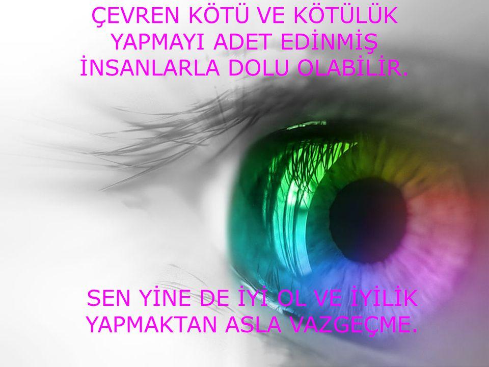 SEN YİNE DE SESLİ İZLEYİNİZ.
