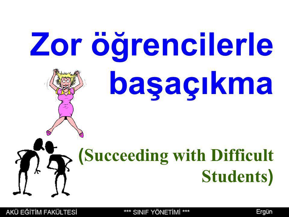 SINIF YÖNETİMİ, OKUL YÖNETİMİNDEN KOPUK OLMAZ Aslında disiplin de okul çapında ele alınmalıdır.