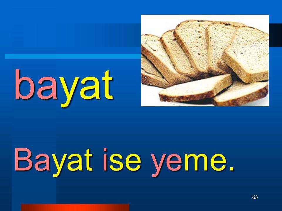 62 badem Al badem ye.