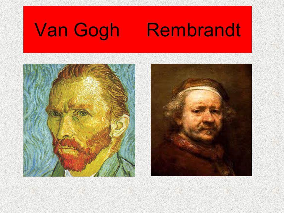 İçindekiler Vincent Van Gogh'un Hayatı Vincent Van Gogh'un Resim Tekniği Rembrandt Harmensz van Rijn'in Hayatı Rembrandt Harmensz van Rijn'in Resim Tekniği Vincent Van Gogh ve Rembrandt Harmensz van Rijn Arasındaki Üslup Farklılıkları Sözlük Kaynakça