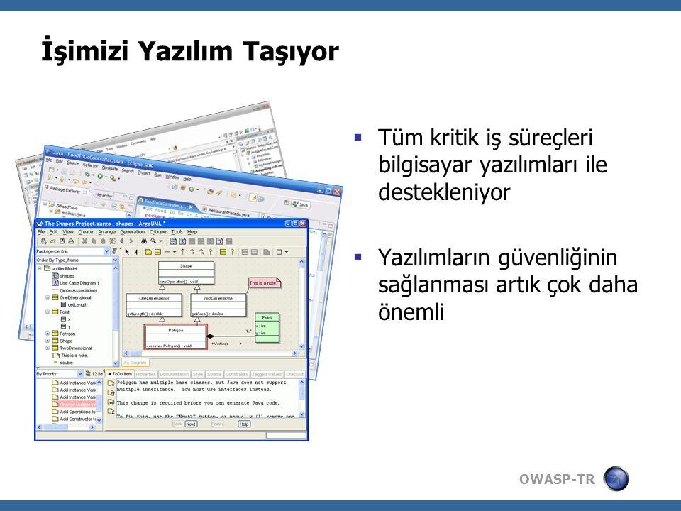 OWASP-TR Daha Fazla Bilgi İçin...