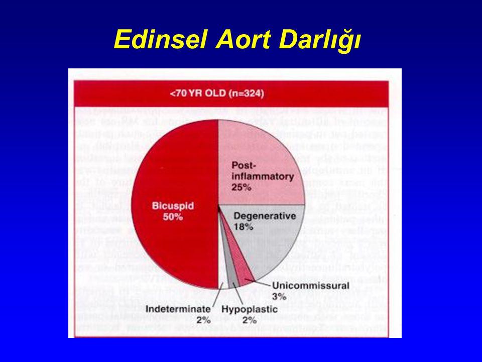 Nadir AY nedenleri Tek komissürlü kuadriküspid kapak SLE Ankilozan spondilit Romatoit artrit Jacoid artropatisi Takayuşu hastalığı Whipple hastalığı Crohn hastalığı İştah kesici ilaçlar