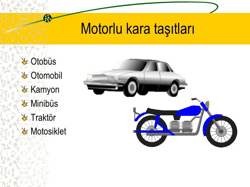 Trafik Kuralı Taşıtların ve yayaların nasıl hareket edecekleri bazı kurallara bağlanmıştır.