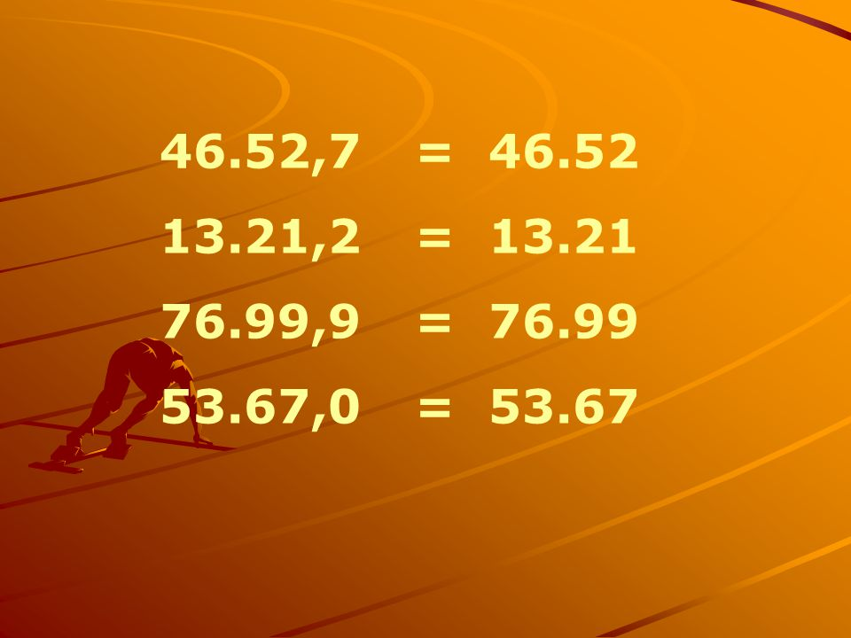 46.52,7= 46.52 13.21,2= 13.21 76.99,9= 76.99 53.67,0= 53.67