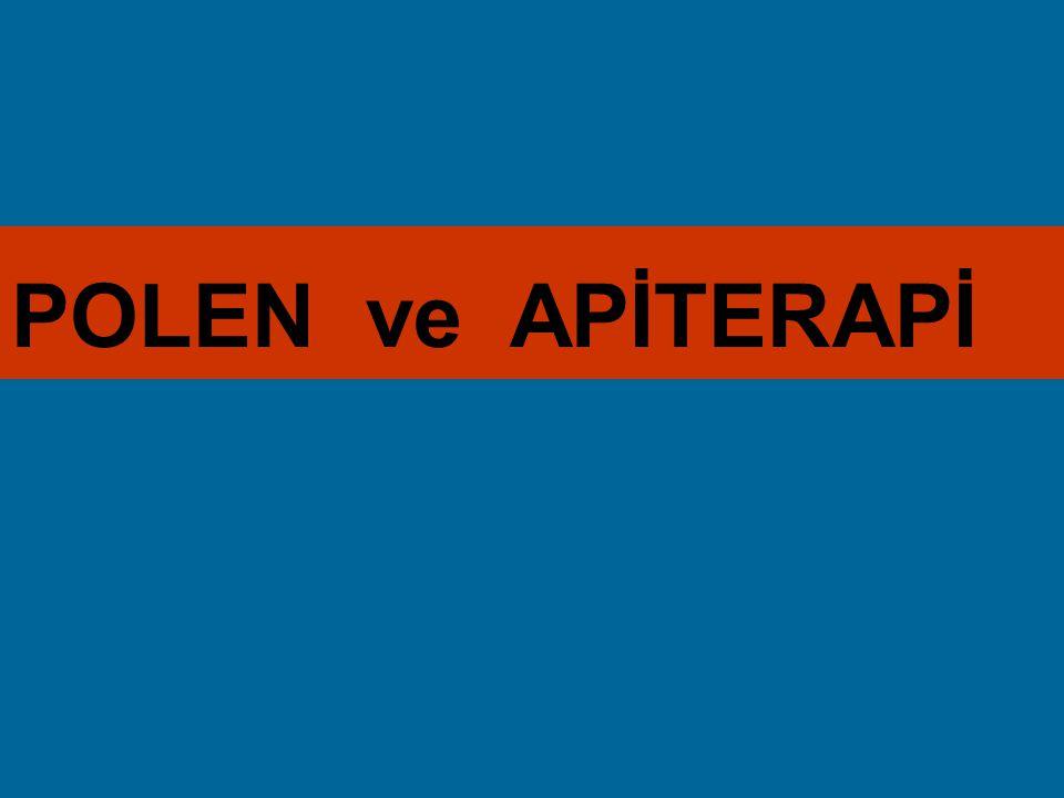 POLEN ve APİTERAPİ