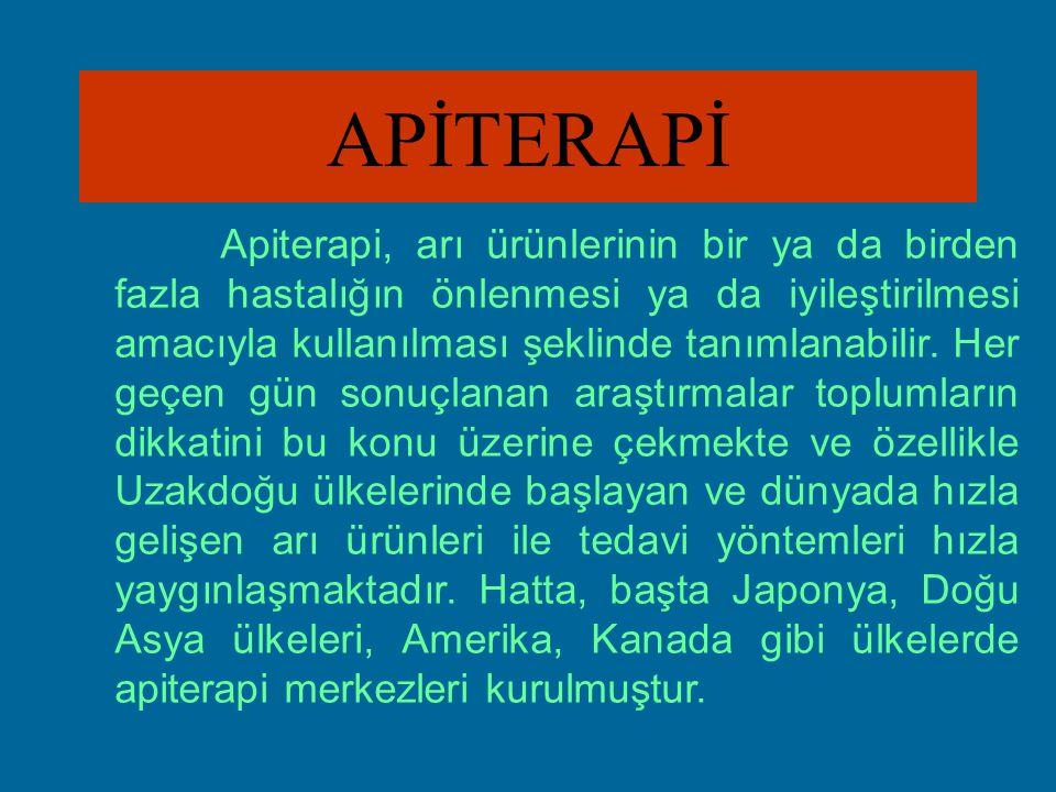 BAL VE APİTERAPİ