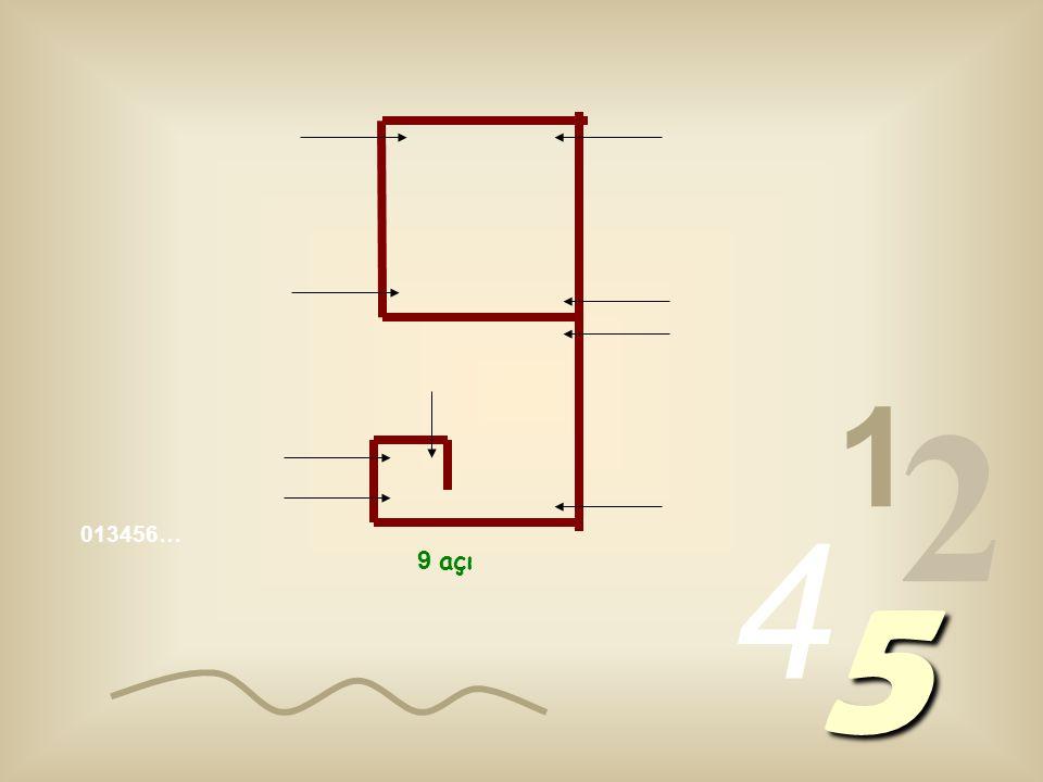 1 2 4 5 5 açı 6 açı 7 açı 8 açı