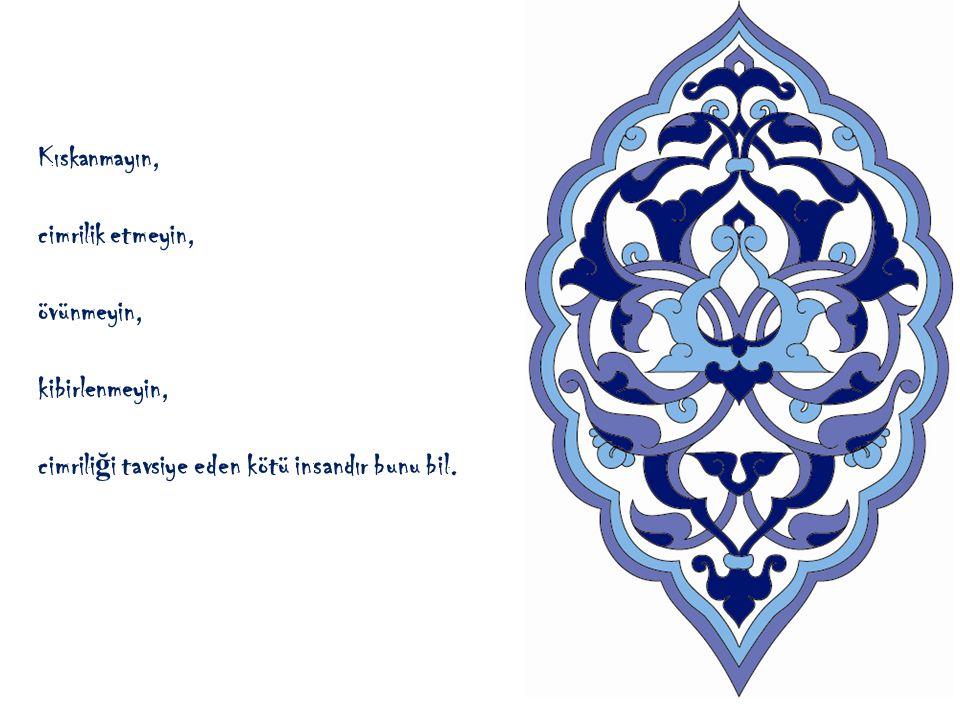 Allaha ş irk ko ş mak en büyük günahtır. Allaha ş irk ko ş ma