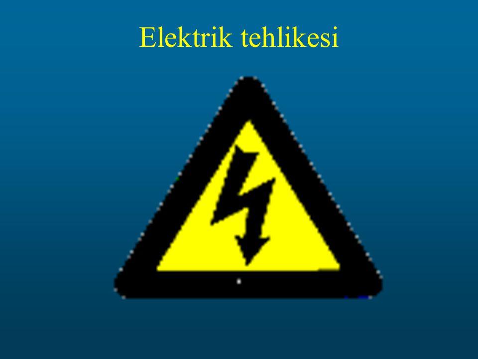 Elektrik tehlikesi