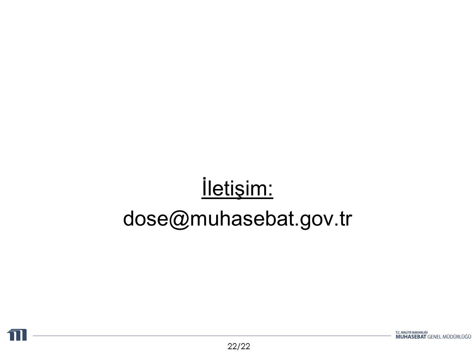 22/22 İletişim: dose@muhasebat.gov.tr