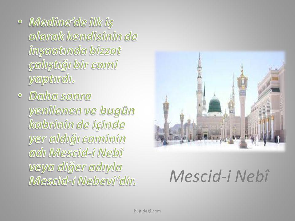 Mescid-i Nebî bilgidagi.com