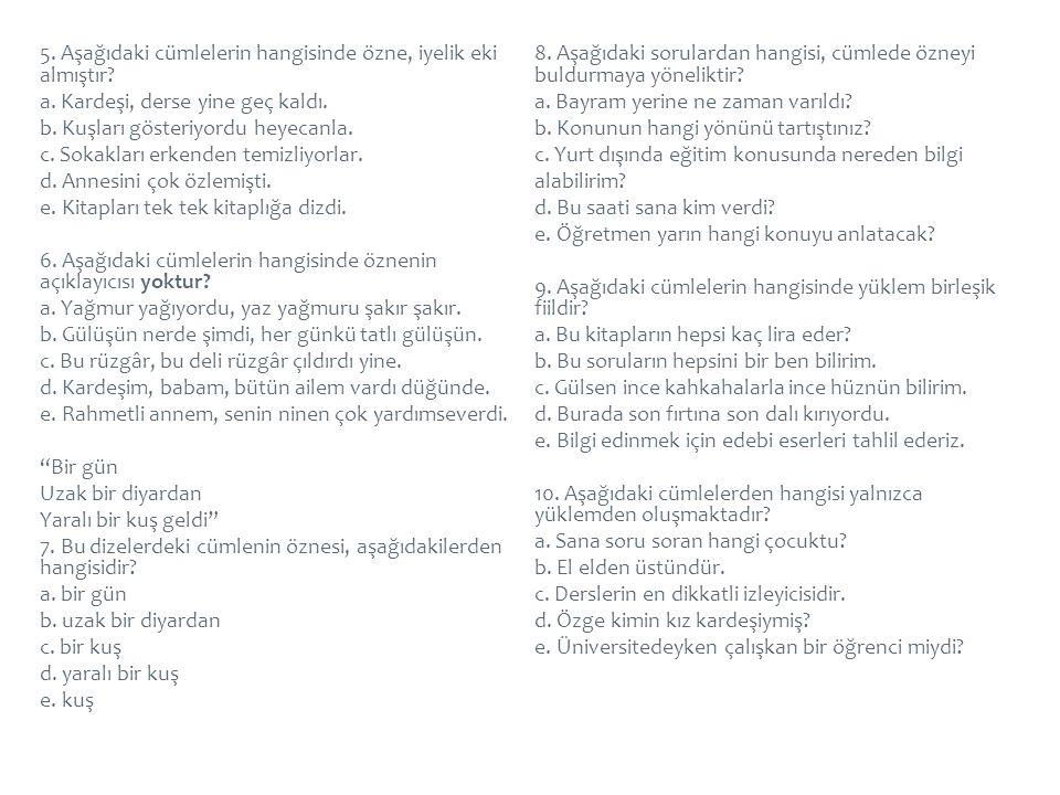  Kelime grubu, bünyesinde birden fazla kelime bulunduran, yapı ve anlam bakımından bir bütünlük gösteren, cümlede bir bütün olarak kullanılan ve herhangi bir yargı bildirmeyen dil birlikleridir.