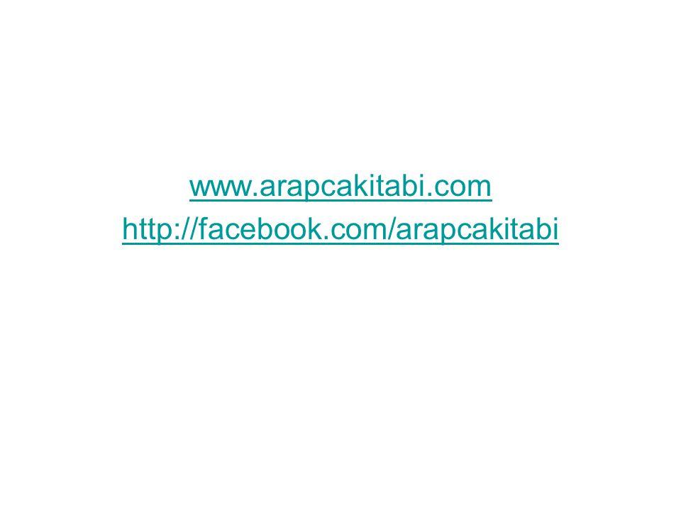 www.arapcakitabi.com http://facebook.com/arapcakitabi
