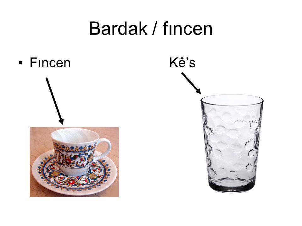 Bardak / fıncen FıncenKê's
