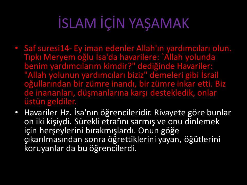 Hukuken Vacip Olması İkincisi: Hukuk açısından İslam için çalışmak vaciptir.