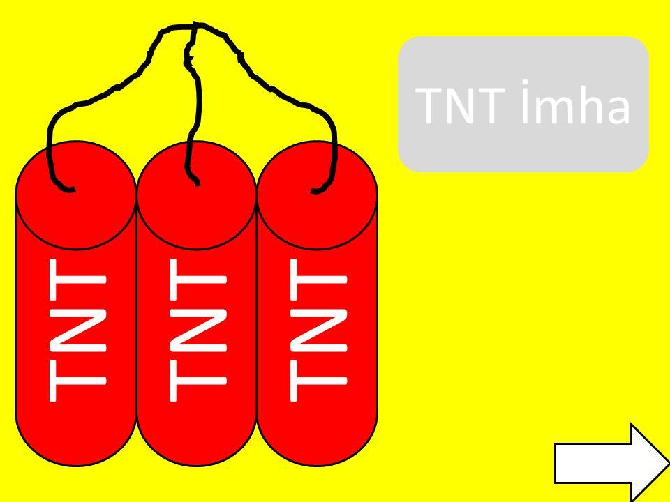 TNT 1.Kural: Gri gösterilen yerden kesebilirsiniz.