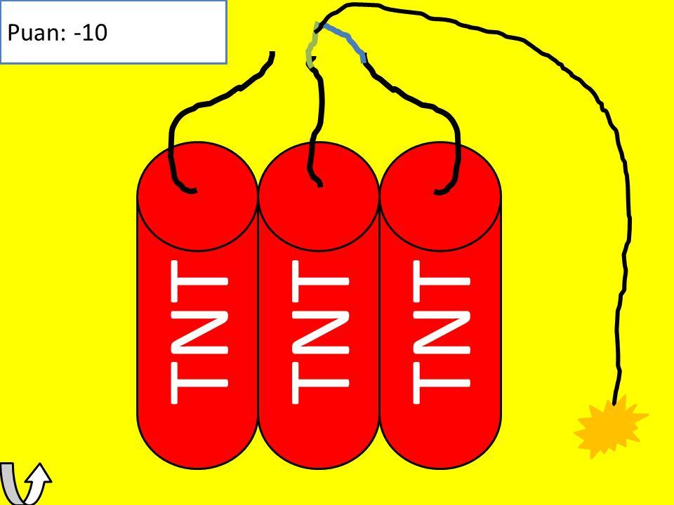 TNT Puan: -10