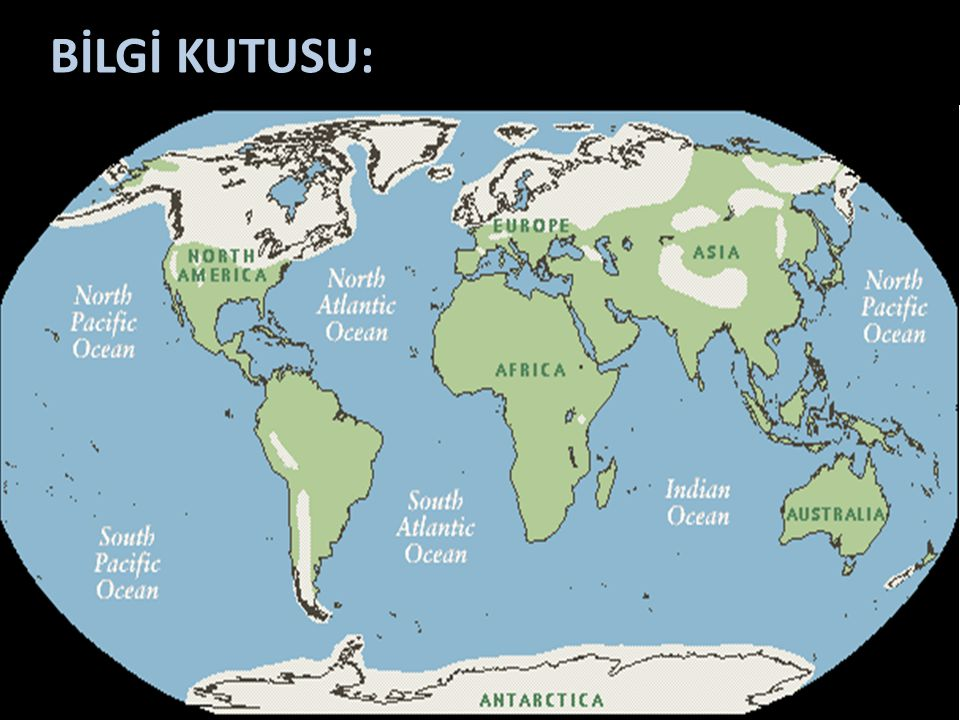 BİLGİ KUTUSU: Günümüzden 10 – 12 bin yıl kadar önce iklim ısınmaya başlamış, buzul alanları çekilmeye başlamıştır. Büyük Sahra, Orta Asya ve Arabistan