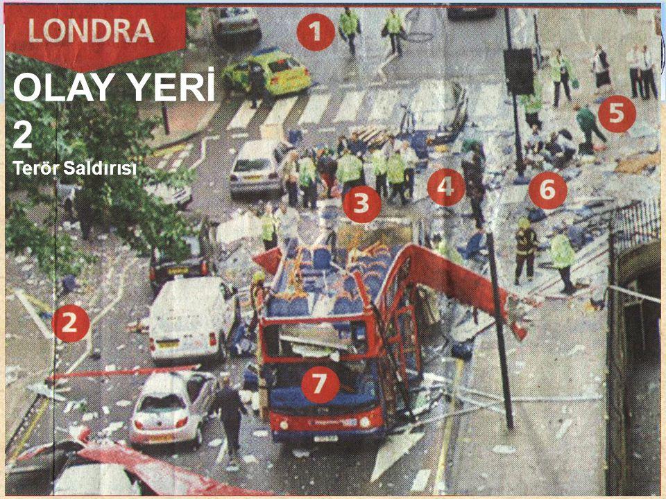 OLAY YERİ 1 Trafik kazası