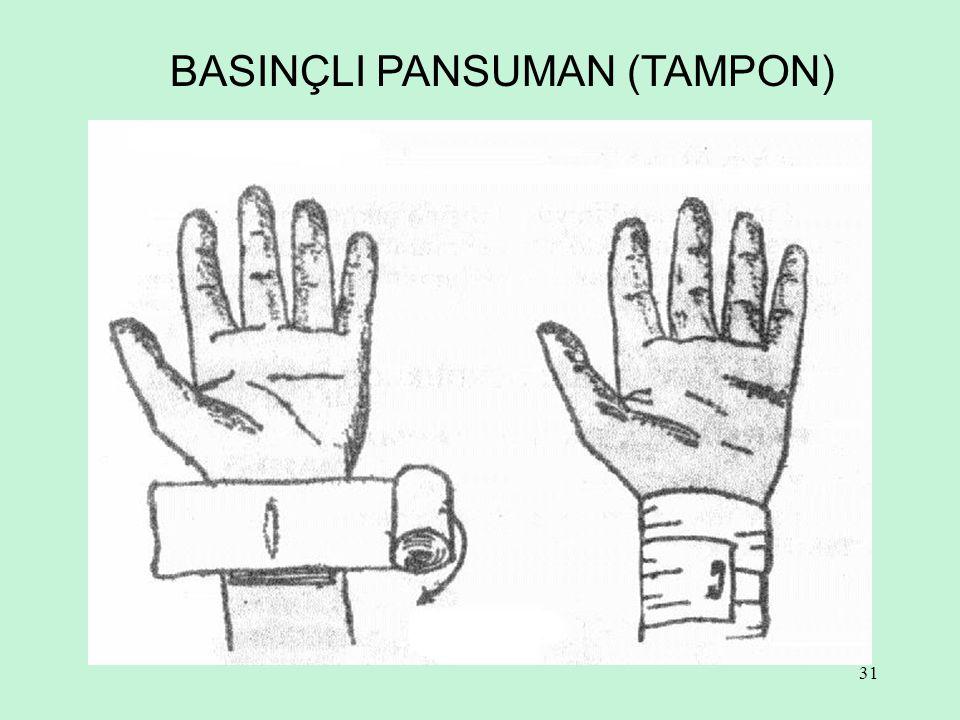 31 BASINÇLI PANSUMAN (TAMPON)