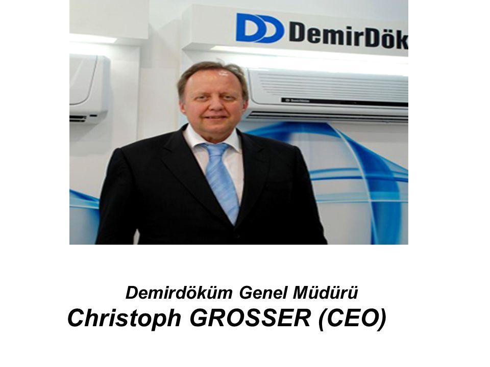 Demirdöküm Genel Müdürü Christoph GROSSER (CEO)