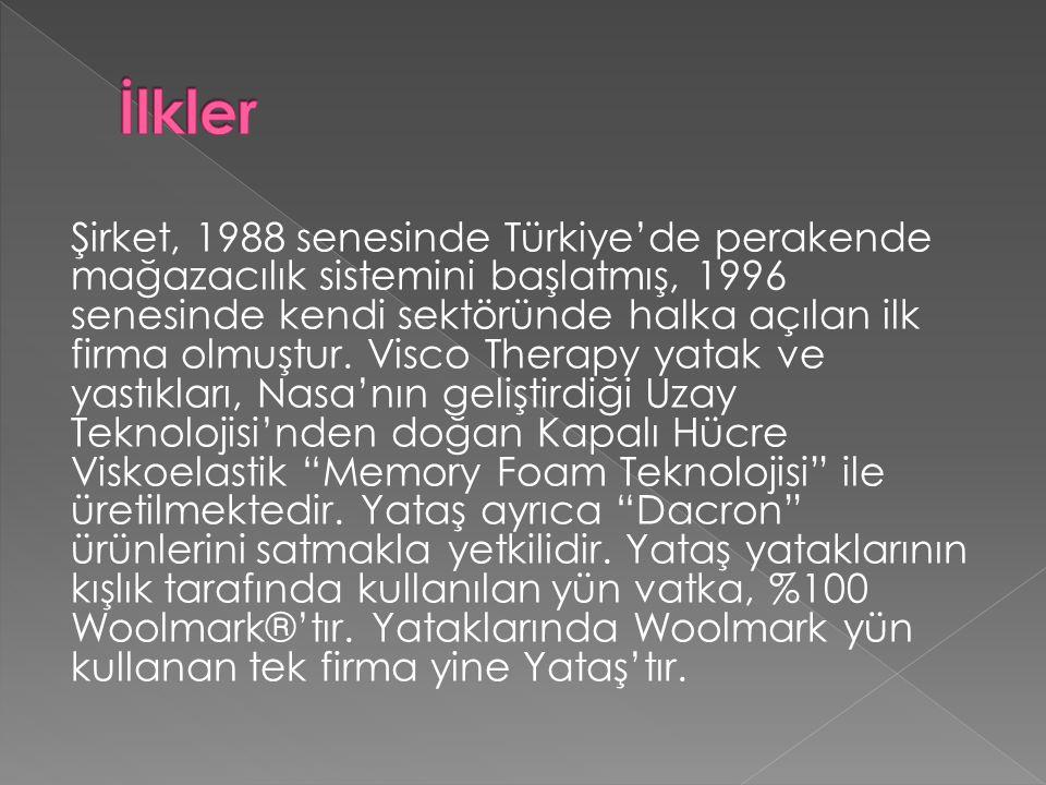 Şirket, 1988 senesinde Türkiye'de perakende mağazacılık sistemini başlatmış, 1996 senesinde kendi sektöründe halka açılan ilk firma olmuştur.