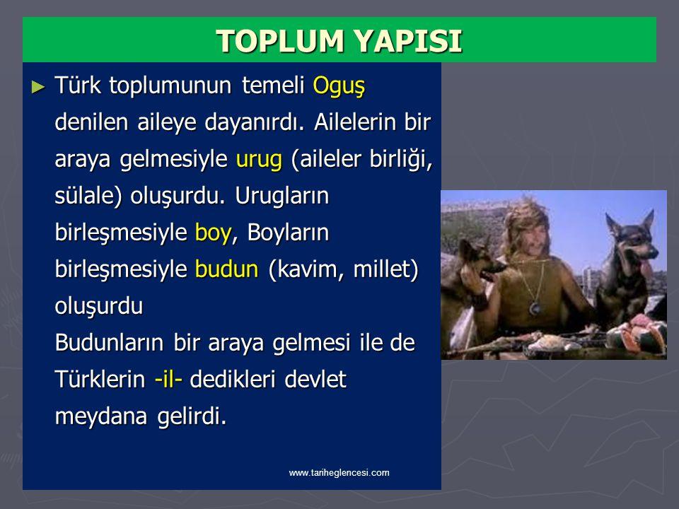 TÜRKLERDE TOPLUM YAPISI www.tariheglencesi.com