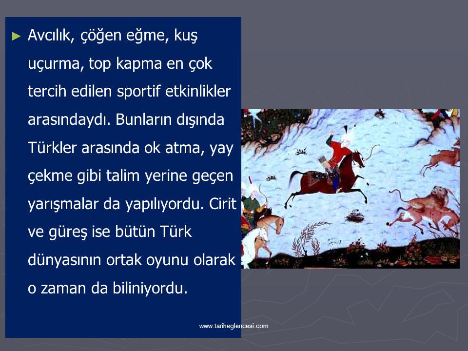 ► ► Türk toplumunun eğlence hayatında müziğin de ayrı bir yeri vardı.