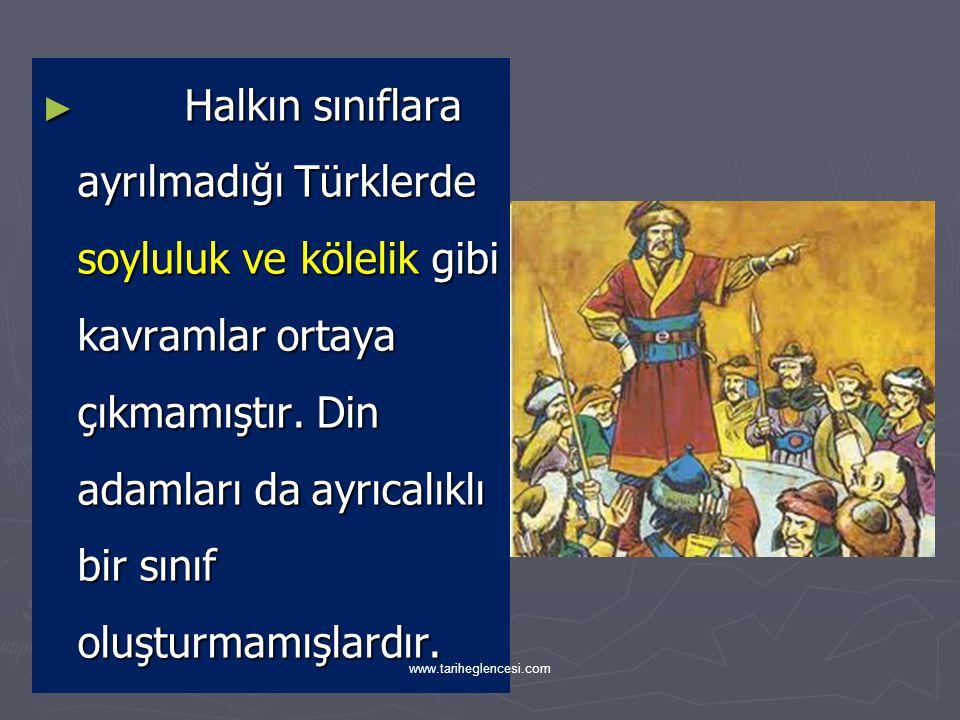 ► Türklerde aile, kalabalık olmayıp küçük aileler şeklinde ortaya çıkmıştır. Evlenen çocuk kendine ev kurardı. Soyu sürdürmek en küçük çocuğa kalırdı.