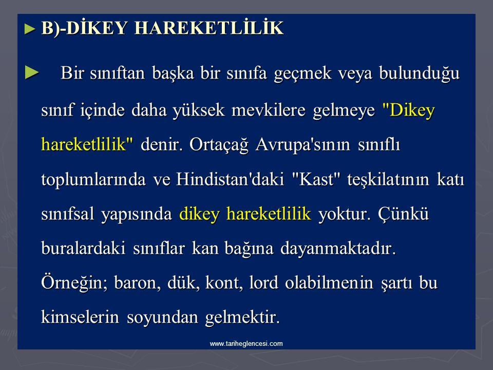 ► b)-Osmanlı Devletinde Duraklama Devri sonrası Yatay Hareketlilik: ► 1- Bu dönemlerde kaybedilen yerlerdeki Türk ve Müslüman halk iç kesimlere göç et