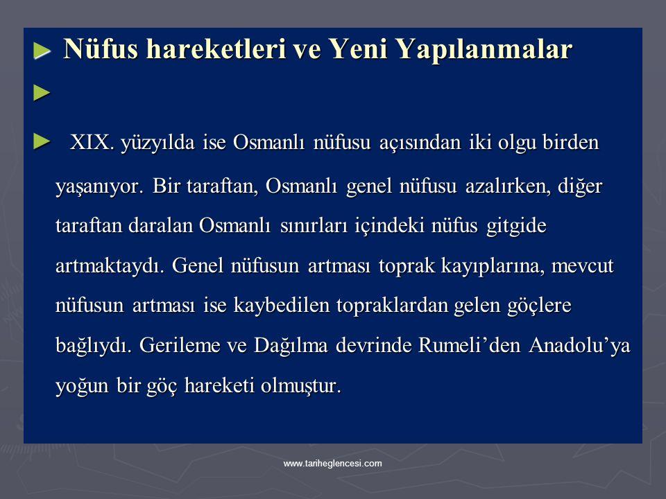 ► Üst seviye Tanzimat bürokratlarından her biri İstanbul'daki yabancı elçilik-lerden biri ile de ilişki içindeydi.