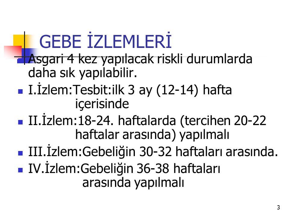 24 Neonatal Tarama Programı.