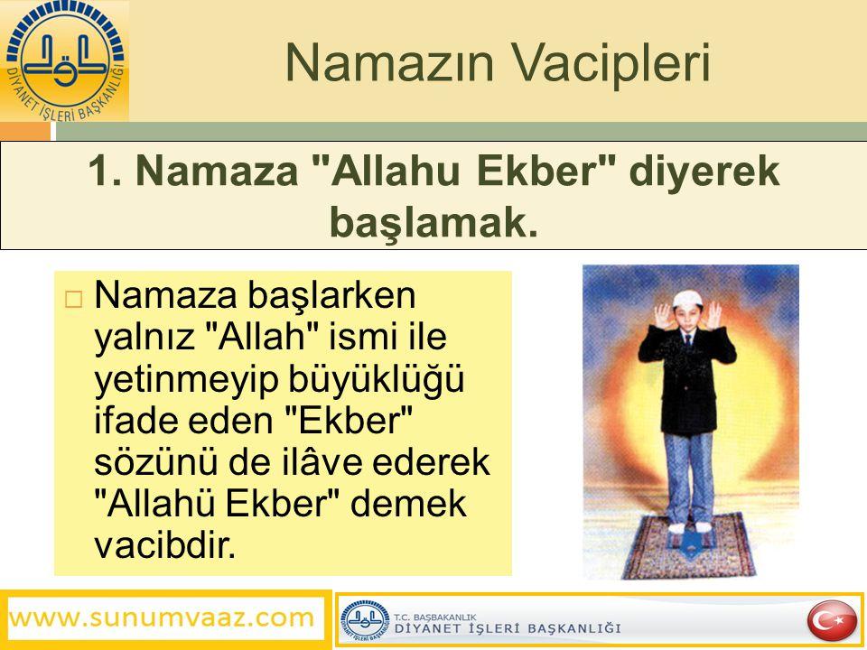 1. Namaza