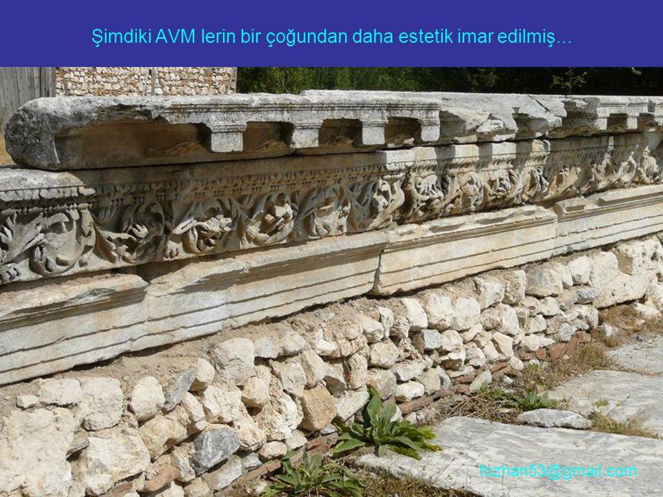 Şimdiki AVM lerin bir çoğundan daha estetik imar edilmiş... fozhan53@gmail.com
