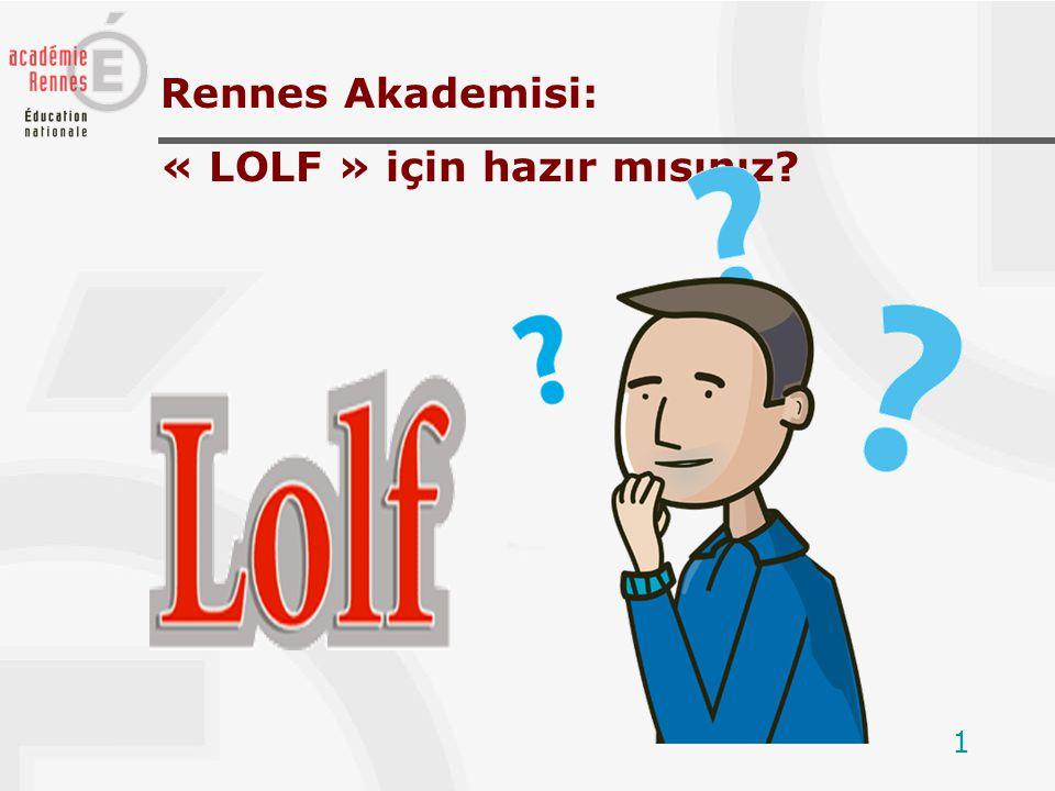 1 Rennes Akademisi: « LOLF » için hazır mısınız?
