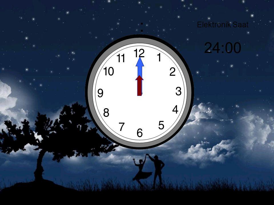 : Elektronik Saat 24:00