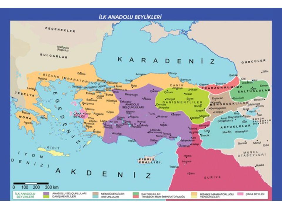 ANADOLU İLK TÜRK BEYLİKLERİ Türkiye Tarihi: Türkiye Tarihi: 1071 yılındaki Malazgirt savaşı veya Büyük Selçuklu Devletinin Anadolu'ya giriş tarihinden günümüze kadar olan süreçtir.