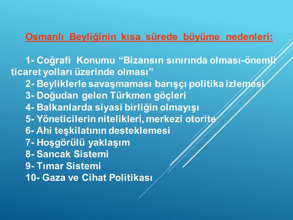 Anadolunun Siyasi Durumu 1243 Kösedağ Savaşı… Merkezi otorite zayıf. Siyasi birlik bozulmuş. Bizansın Siyasi Durumu Merkezi otorite bozulmuş. Sürekli